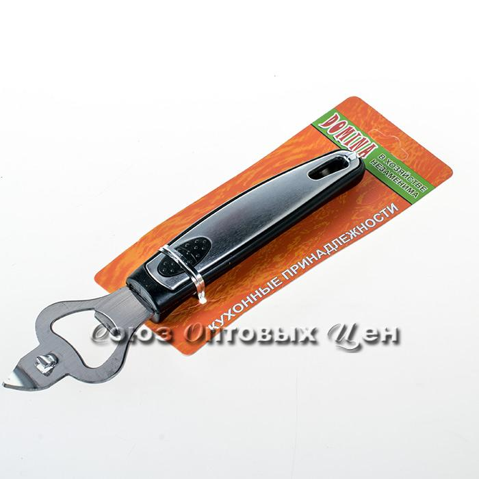 открывашка пластм ручка c мет вставкой M-F03 уп24шт