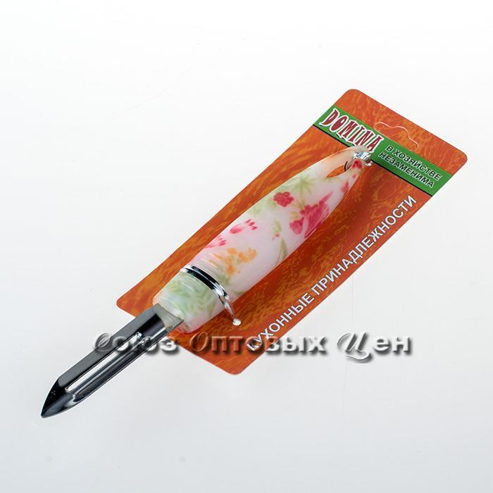 овощечист-рыбочист пластм цветная ручка M-K30 уп24шт