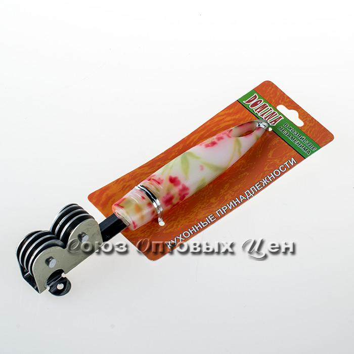 ножеточка  пластм цветная ручка M-K46 уп24шт