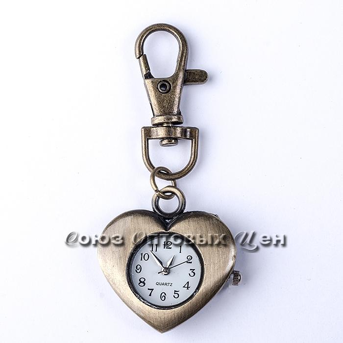 брелок часы металл SA-5 уп/12