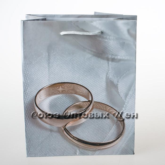 пакет подар бум 12*15 Свадьба уп/12 (шт.)