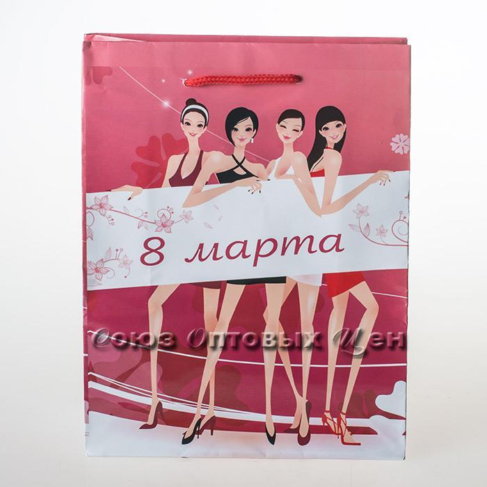 пакет подар бум 18*23 С 8 марта уп/12 (шт.)