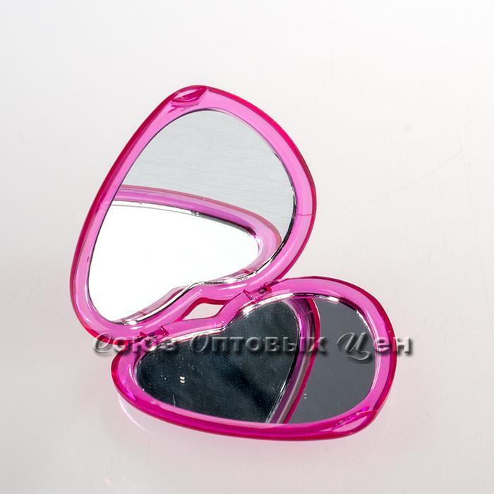 зеркальце складное пластик d-8см