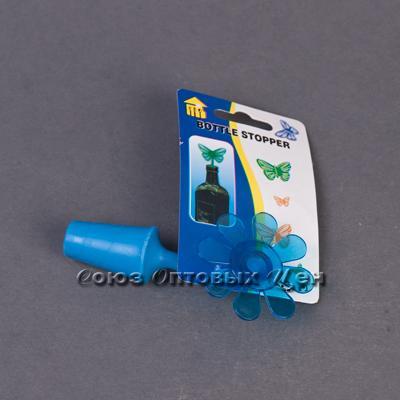 пробка силикон для бутылки Цветок уп/48шт BBW20013