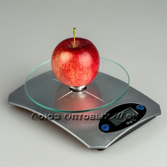весы кухонные электронные 5кг пласт КЕ5