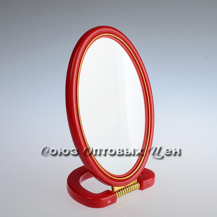 зеркало настольное овал 15*21см 2-х стороннее 308R