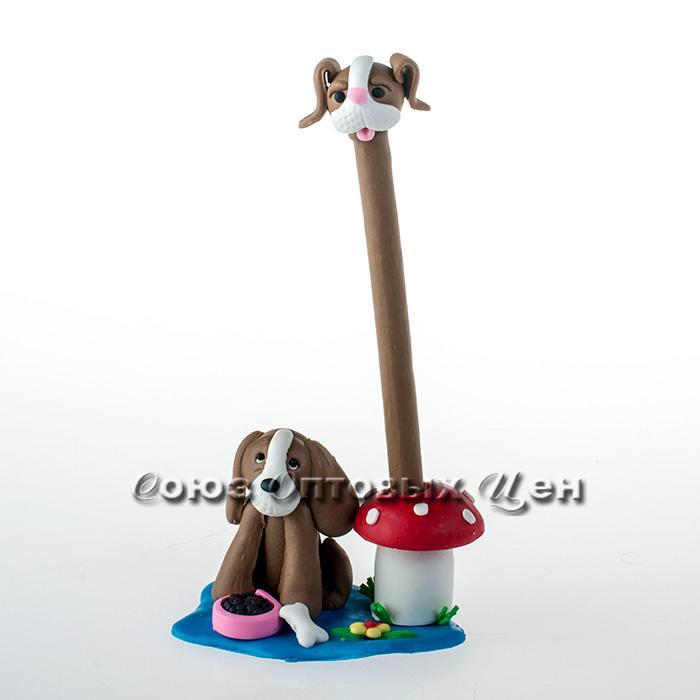 ручка шариковая  рvc Собака Н-418