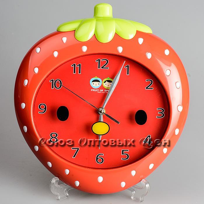 часы пластм настенныеd-28см 15079 (кор 24 шт)
