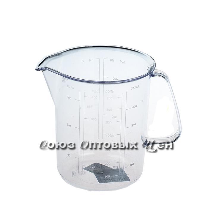 кружка пласт мерная 0,5л 146 П-48№107