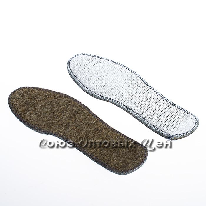 стелька для обуви войлок иск с фольгой №5 тонкая уп/10/600
