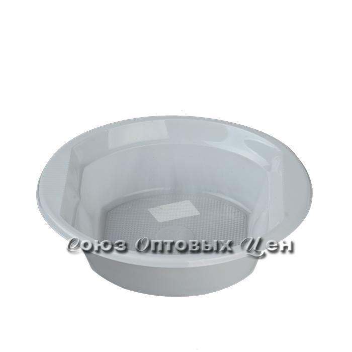 тарелка супов. 500 мл.рр белая Ф 100/1600