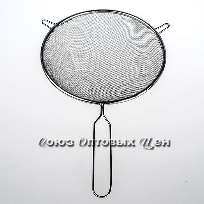 Сито метал с ручкой d18 см (034992)