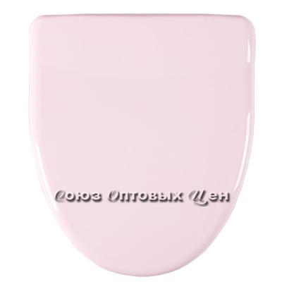 крышка для унитаза универ. Орио КВ1-3 розовая