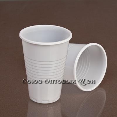 стакан 200мл РР белый  Э  СОЦ 100/3000