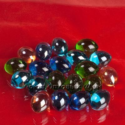 Цветные камни для декора