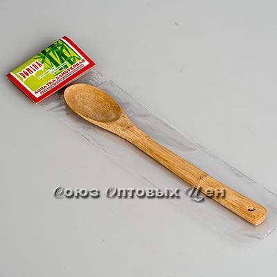 лопатка для приготовления пищи бамбук 30см КН-10 DOMINA