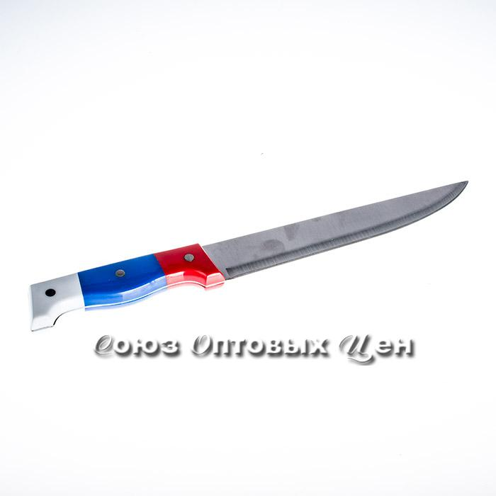 "нож кухонный пластик ручка ФР лезвие 8"" F002B уп12шт"