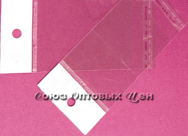 пакет еврослот/скотч 10*12см  33 мкм (1000/35000)