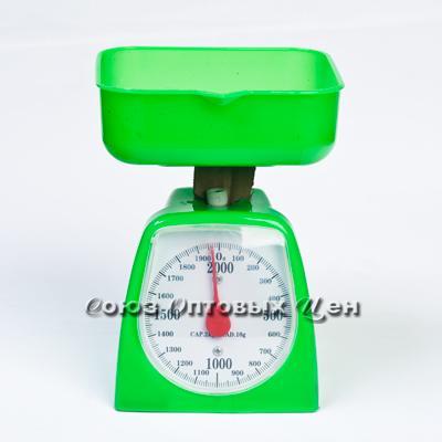 весы кухонные механ 2кг в пласт корпусе