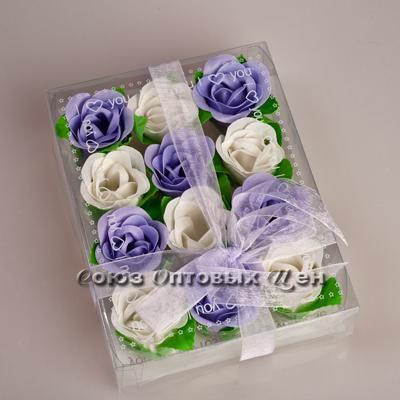 "мыло ""Лепестки роз"" (уп 6шт) М12"