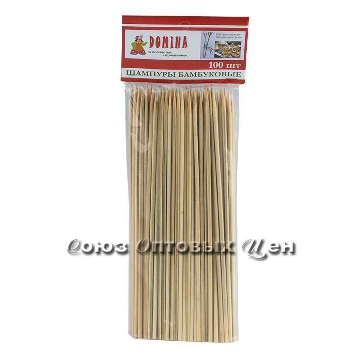 шампур Бамбук 25см*3мм по 100шт 10/100 DOMINA