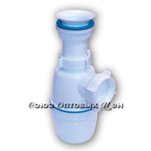 """сифон Орио 1 1/2"""" 40 с пластик.вып. А-7205 №10"""
