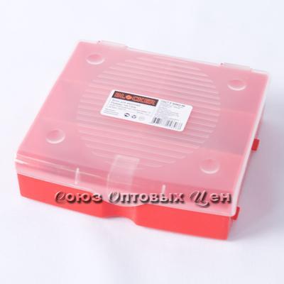 Блок для мелочей 17x16 см красный, ПЦ3711