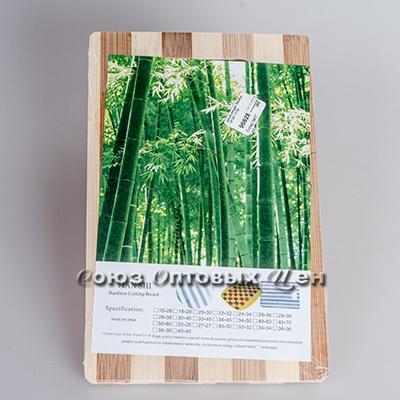 доска разделочная бамбук 22*32*1,8см полоска