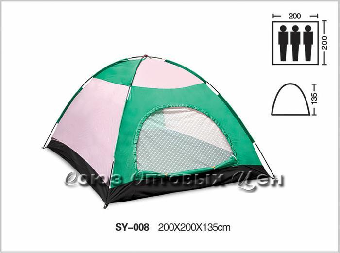 палатка 3 места 200*200*135 SY-008