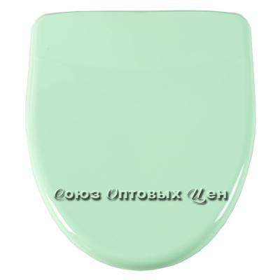 крышка для унитаза универ. Орио КВ1-4 салатовая
