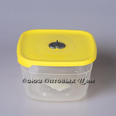 емкость для СВЧ  2л квадр лимон ПЦ2213