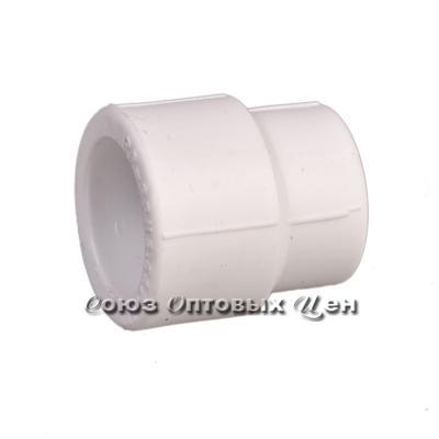 Муфта переходная 25*20 бел. СТМ (Ф-5) уп/100