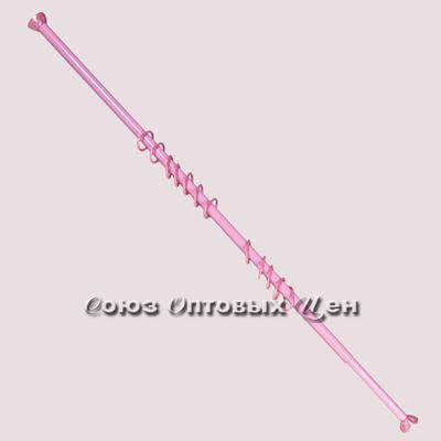 гардина в ванну 110-220 см Стелла роз