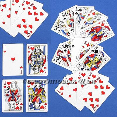 карты Poker Дама (36) 9811 /10/120