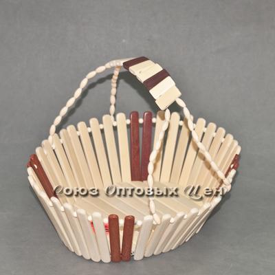 ваза бамбук с ручкой А47